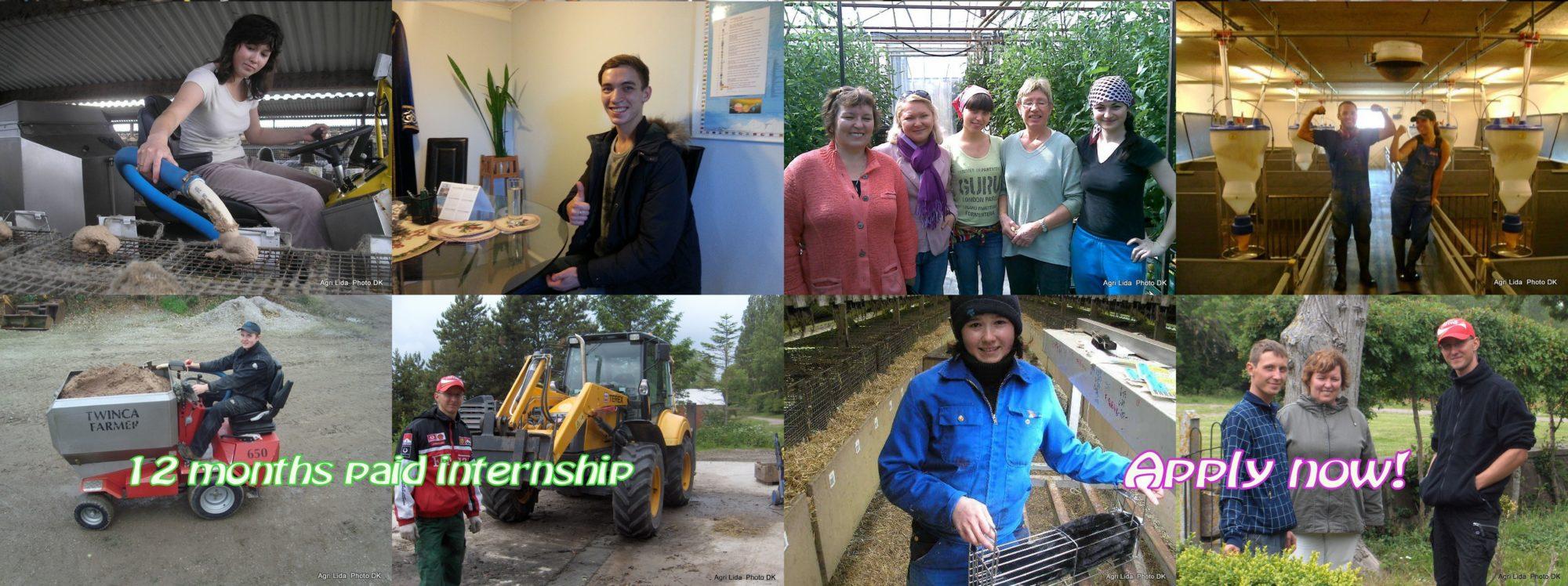 Agri LIDA Agriculture Internships in Denmark.